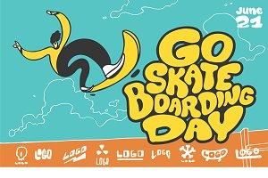 Go skateboarding day.