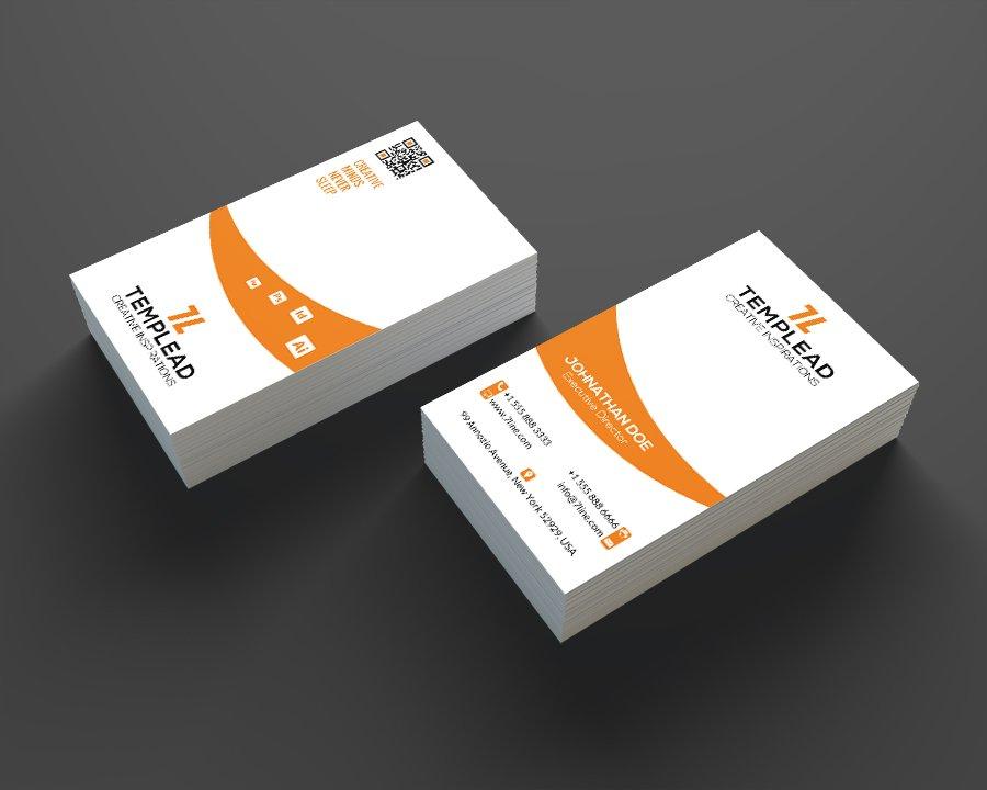 Creative Design Business Card SE0205 ~ Business Card Templates ...