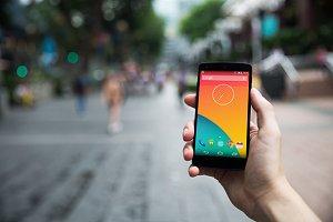 Nexus5 template, Wanderer (L)