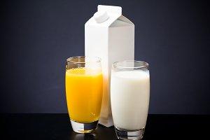Orange Juice & Milk