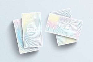 ZOEY Business Card Template
