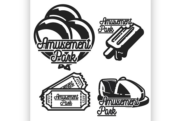 Amusement Park Emblems