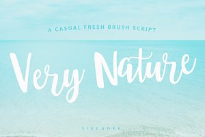 Very Nature Font