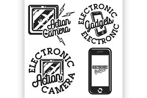 electronic gadgets emblems
