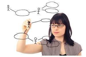 Software Engineer Drawing A Uml Use Case Diagram