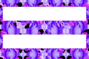 Colorful Stylized Floral Ornate Seamless Pattern