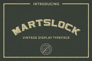 Martslock Typeface