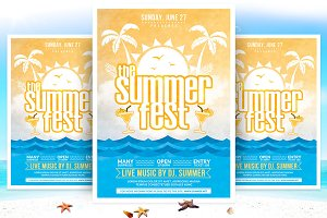 The Summer Fest Flyer Template