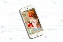 Baby Shower Snapchat Geofilter by Eleonora Petrova in Snapchat