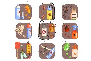 Pests And Measures For Their Extermination Set