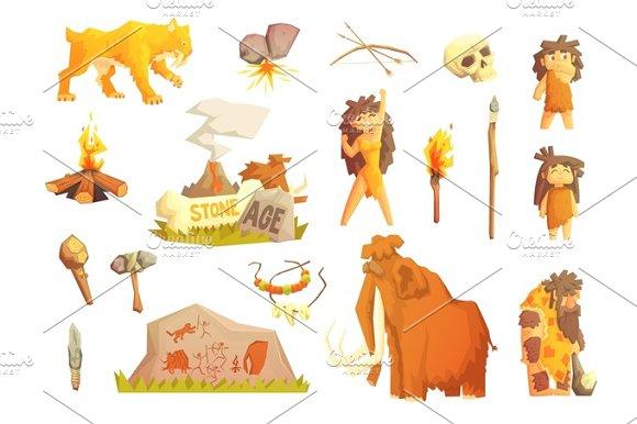 Life Stone Age Primitive Man Ice Age