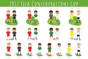2017 FIFA Confederations Cup Teams