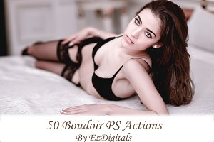50 Photoshop Boudoir Actions