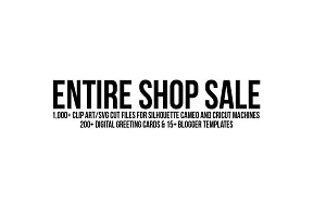 entire shop sale clip art svg cards