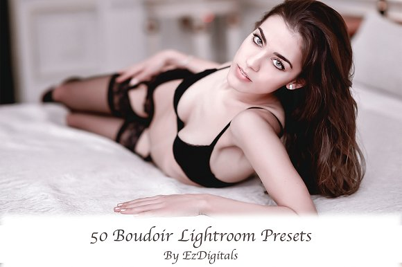 50 Lightroom Boudoir Presets