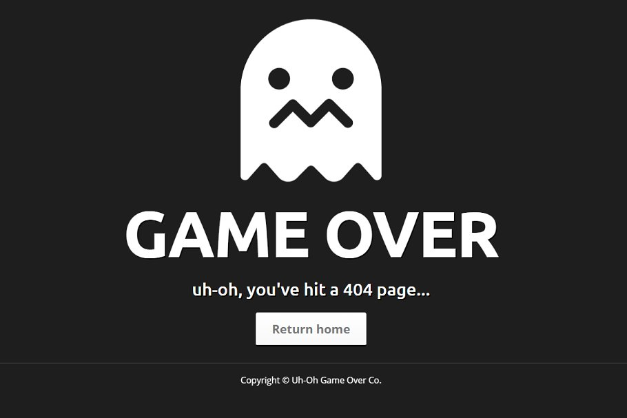 Animated HTML5/CSS3 404 Error Page ~ HTML/CSS Themes