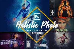 Artistic Photoshop - Actions Bundle