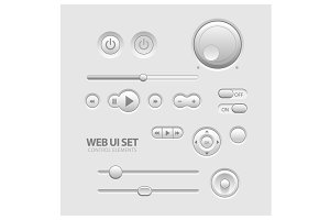 Light Web UI Elements