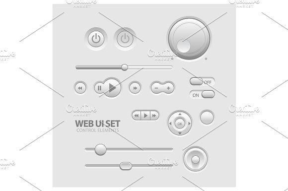 Light Web UI Elements