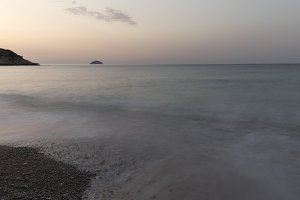 View at sunrise of Torres beach