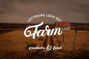 Farm Logo Set