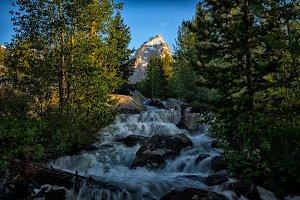 Mountain Water Fall