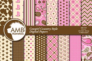 Cowgirl Country Style AMB-1974