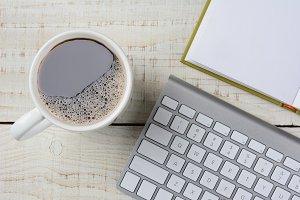 Coffee and Keyboard