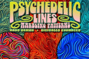 7 Psychedelic Line Patterns