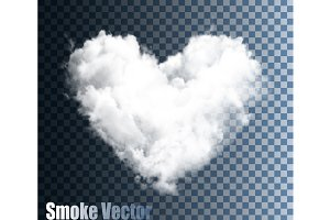 Vector Cloud Heart