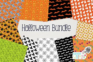 Halloween Pattern Bundle
