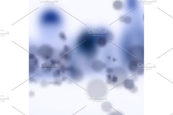 Molecules Abstract Vector Illustration Of Good Quality