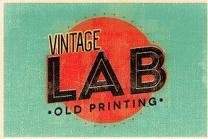 Vintage Lab - Old Printing