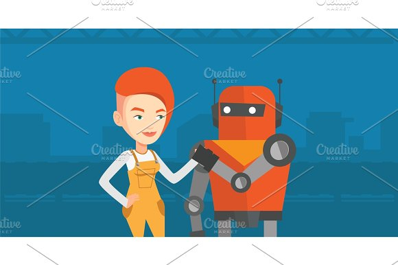 Competition Between Robot And Human
