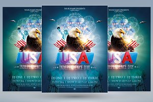 USA Independence Day Flyer