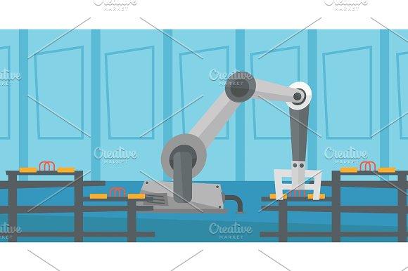 Automated Robotic Conveyor Belt
