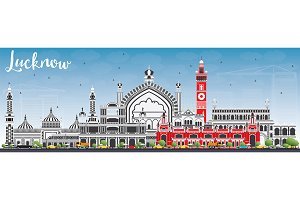 Lucknow Skyline