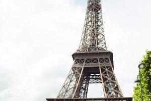 Eiffel Tower full body