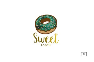 Sweet Tooth Logo Template