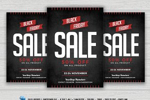 BlackFriday Sale Flyer Poster