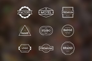 Simple Badge Logos