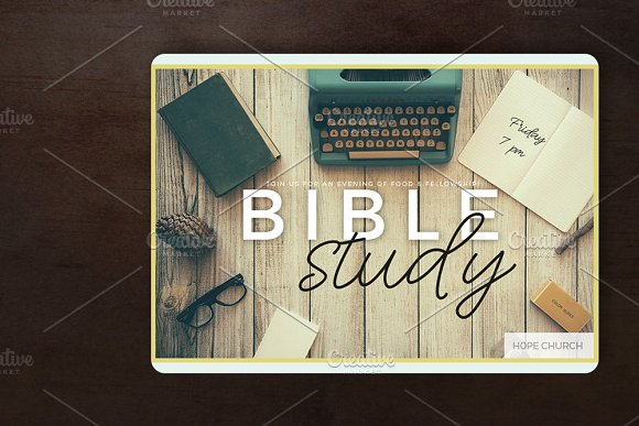 Bible Study Christian Templates