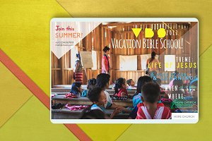 VBS/ Vacation Bible School template