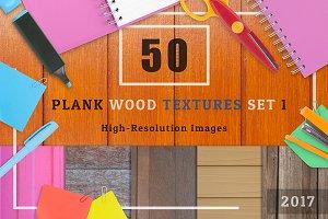 50 Plank Wood Textures Set 1