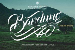 Bandung + Aceserif 30%