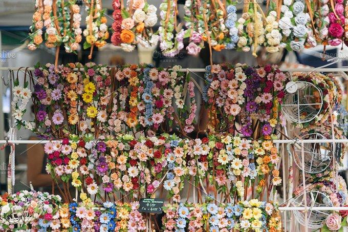 Handmade Floral Headband - Beauty & Fashion