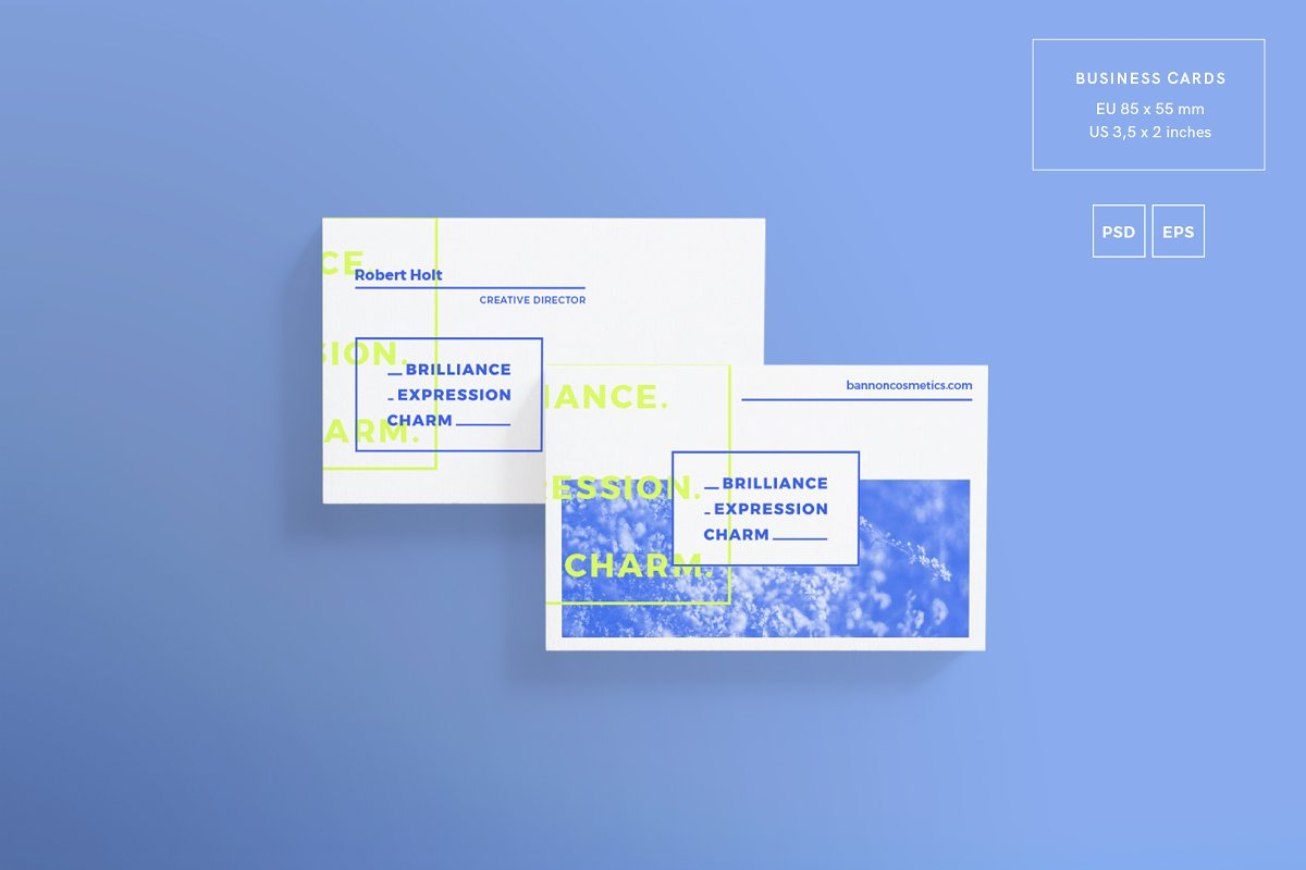 Business Cards | Brilliance in Business Card Templates - product preview 1