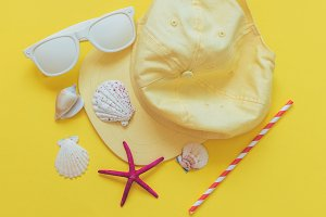 summer stylish beach party concept