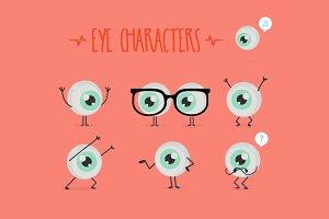 Eye characters