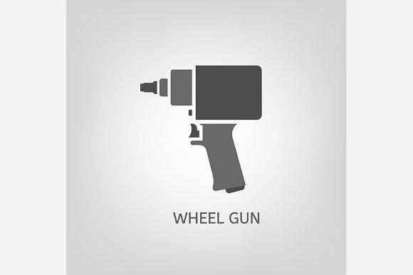 Wheel Gun Icon